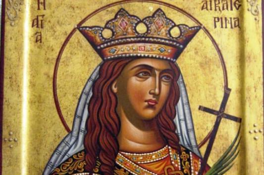 Αγία Αικατερίνη και 50 ρήτορες - Γιορτάζει σήμερα 25 Νοεμβρίου