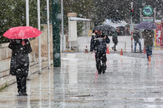 Καιρός: Έρχεται ψύχος! Απότομη αλλαγή με καταιγίδες και χιόνια