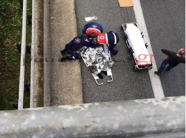 Δραματικές στιγμές για πρώην βουλευτή της ΝΔ - Ο γιος του έπεσε από γέφυρα