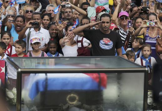 Φιντέλ Κάστρο: Η τέφρα του `comandante` στην `μήτρα` της κουβανικής επανάστασης
