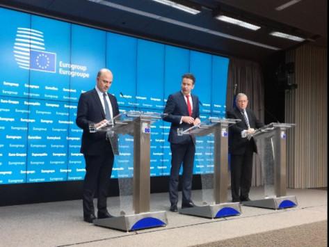 """Eurogroup LIVE: Απόφαση για μέτρα και δυσβάσταχτα πρωτογενή πλεονάσματα - """"Τυράκι"""" τα βραχυπρόθεσμα μέτρα για το χρέος"""