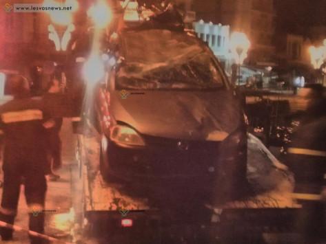 Μυτιλήνη: Το βίντεο ντοκουμέντο της πτώσης του αυτοκινήτου στη θάλασσα - Το προφητικό μήνυμα [vid]
