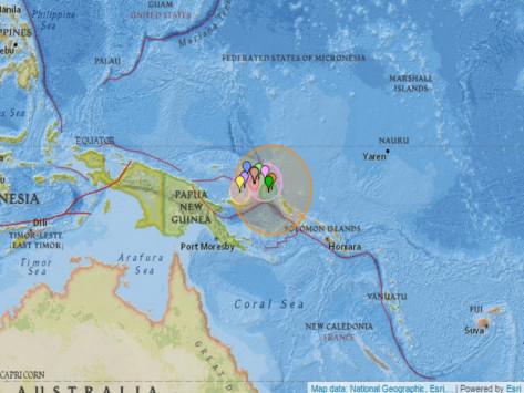 Σεισμός στη Νέα Γουϊνέα: Φοβούνται τσουνάμι 3 μέτρων άμεσα!