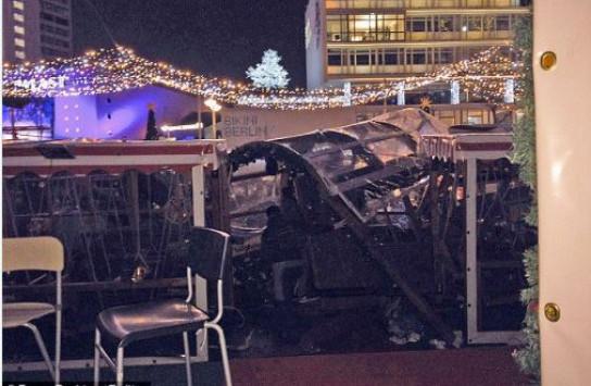 Τρομοκρατική επίθεση σε χριστουγεννιάτικη αγορά στο Βερολίνο! 9 νεκροί, 50 τραυματίες