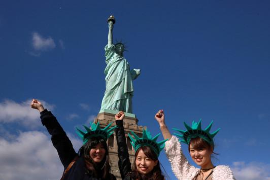 Ρεκόρ τουριστών στη Νέα Υόρκη το 2016