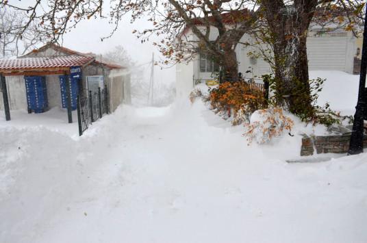 Καιρός: Χιόνια και παγετός την Παρασκευή!