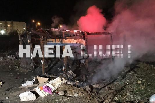 Πύργος: Ματωμένα Χριστούγεννα για πυροσβέστες - Άγρια επίθεση σε κατάσβεση φωτιάς [pics, vid]