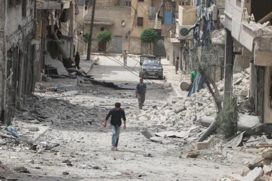 Φρίκη στο Χαλέπι – Ομαδικοί τάφοι