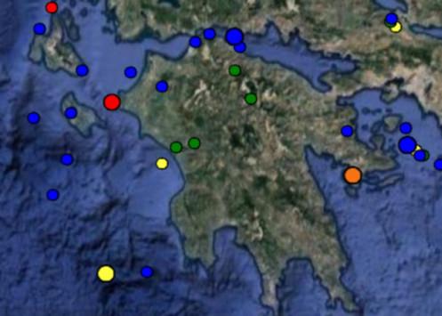 Σεισμός τώρα στην Κυλλήνη - Αισθητός σε ολόκληρη την Ηλεία!