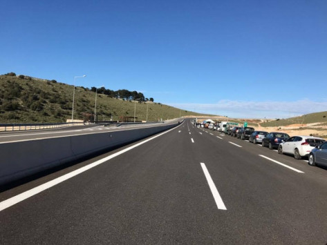 Οδηγώντας στην Ιόνια Οδό - Στην κυκλοφορία το τμήμα Κουβαράς – Αμφιλοχία [vid]