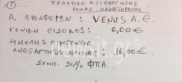 Δήμος Αθηναίων: Ένα... μπακαλόχαρτο, τα πρακτικά για τη ρόδα! Σάλος με το κόστος του πρωτοχρονιάτικου ρεβεγιόν!
