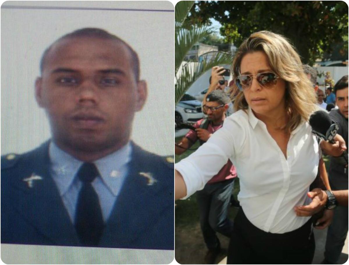 Η Φρανσουάζ Αμοιρίδη και ο 28χρονος αστυνομικός