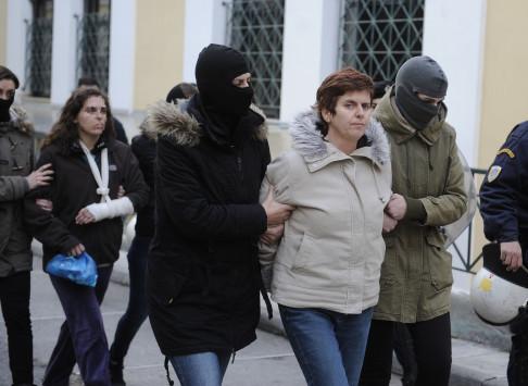 Κατάληψη στο Εργατικό Κέντρο Θεσσαλονίκης για την Πόλα Ρούπα