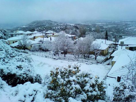 Καιρός: Χιόνια και θερμοκρασίες κάτω από το 0 και την Κυριακή