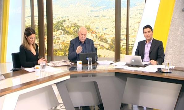 Δεν φαντάζεστε τι έδειξε ο Γιώργος Παπαδάκης στον αέρα του Καλημέρα Ελλάδα! «Πάρτε τα αρ... μου τώρα»!