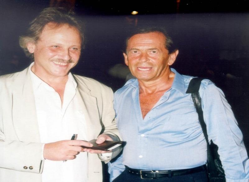 Στα δεξιά ο Αλέξης Μάρδας, μαζί με τον Θανάση Καστανιώτη / Φωτογραφία αρχείου: ΑΠΕ - ΜΠΕ