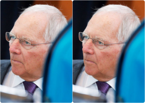 Ο Σόιμπλε... `αδειάζει` τον Σόιμπλε για τις δηλώσεις περί ΔΝΤ!