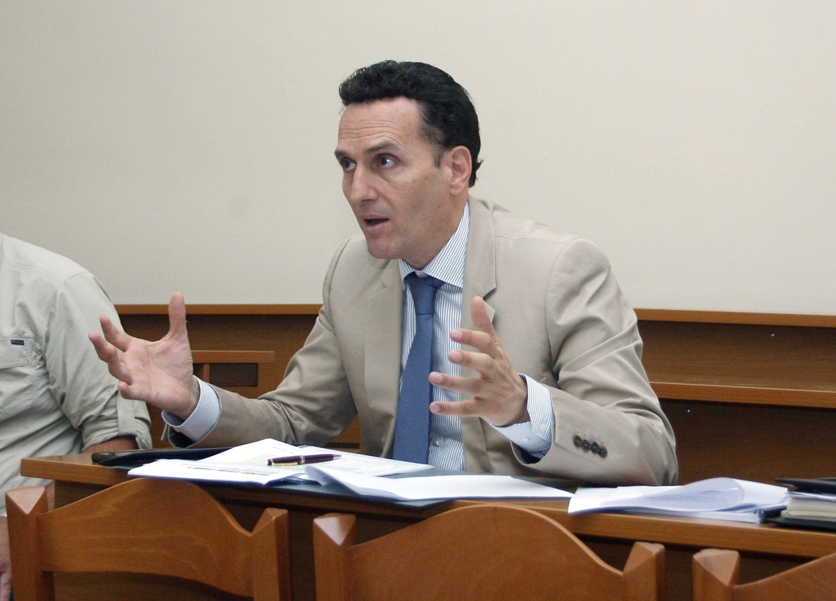 ΦΩΤΟ Eurokinissi Ο πληρεξούσιος δικηγόρος της Πηγής Δεβετζή, Μιχάλης Δημητρακόπουλος.
