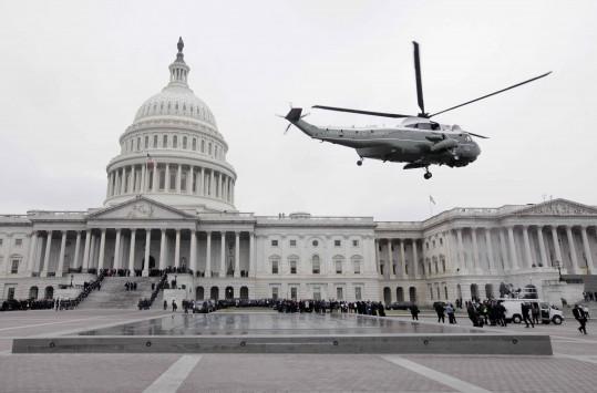Ορκωμοσία Τραμπ: Το `αντίο` Ομπάμα στον Λευκό Οίκο και το... ξενέρωμα της Μισέλ [pics]