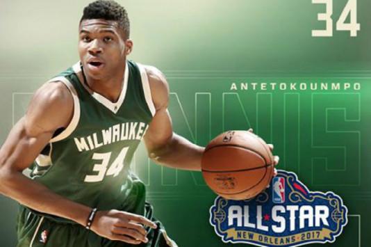 Αντετοκούνμπο: Έγραψε ιστορία ο Γιάνναρος! Βασικός στο All Star Game του NBA