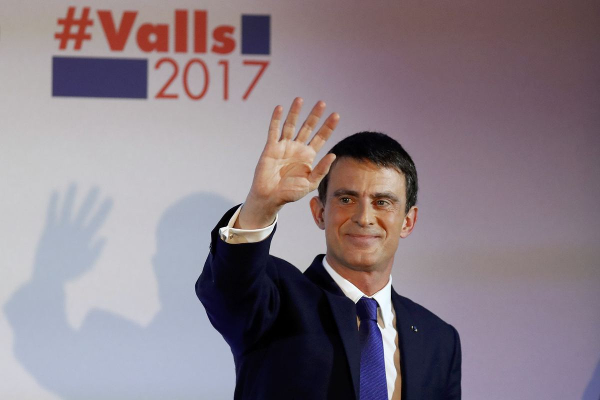 Ο Μανουέλ Βαλς - Φωτογραφία Reuters