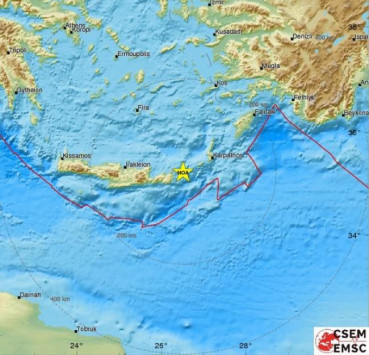 Σεισμός ταρακούνησε στην Κρήτη! Τον `ένιωσαν` μέχρι την Τουρκία