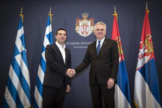 `Καρφιά` Τσίπρα για Τουρκία και Σκόπια - Συνάντηση με τον Σέρβο πρωθυπουργό