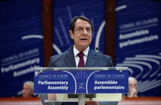 Αναστασιάδης προς ηγέτες Ε.Ε:  Να μην ανοίξουμε την πόρτα στην Τουρκία
