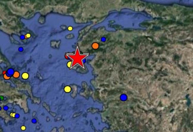 Σείεται η γη- Δεύτερος σεισμός 5,3 Ρίχτερ ανοιχτά της Λέσβου