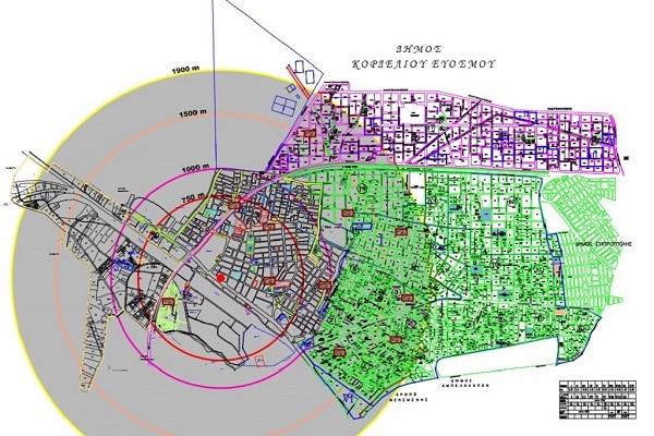 Θεσσαλονίκη: Ο χάρτης της εκκένωσης - 72.000 άνθρωποι μετακινούνται για την εξουδετέρωση της βόμβας [pics]
