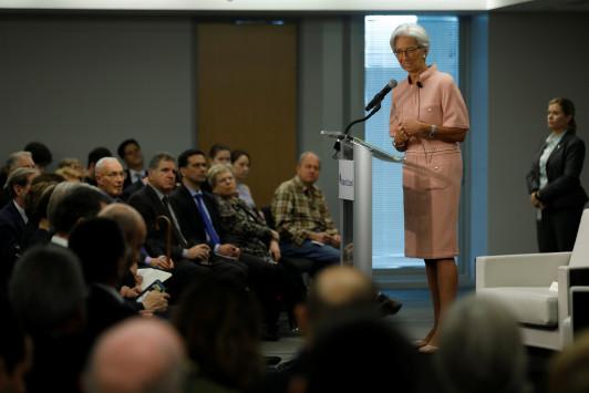 Λαγκάρντ: Επιμένει στα σκληρά μέτρα για την Ελλάδα - `Λέμε την αλήθεια και δεν αρέσει`