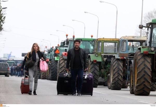 Αποτέλεσμα εικόνας για αγροτες αεροδρομιο μακεδονια