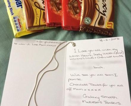 Ασύλληπτη τραγωδία! Έστειλε κάρτα και σοκολάτες στα παιδιά της για του Αγίου Βαλεντίνου και τη βρήκαν νεκρή!