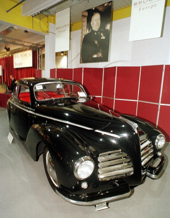 Το αυτοκίνητο της Claretta / Φωτογραφία αρχείου: ΑΠΕ - ΜΠΕ