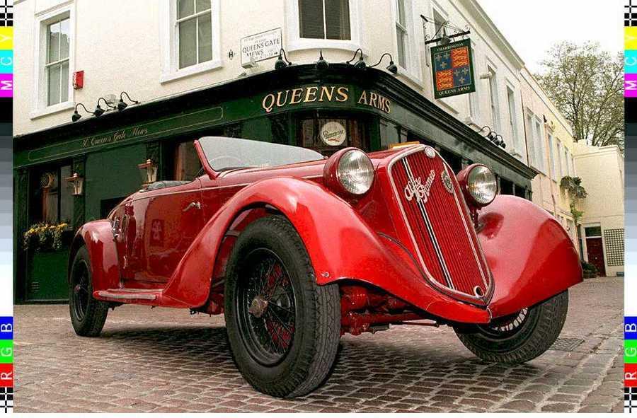 Το αυτοκίνητο του Μουσολίνι / Φωτογραφία αρχείου: ΑΠΕ - ΜΠΕ