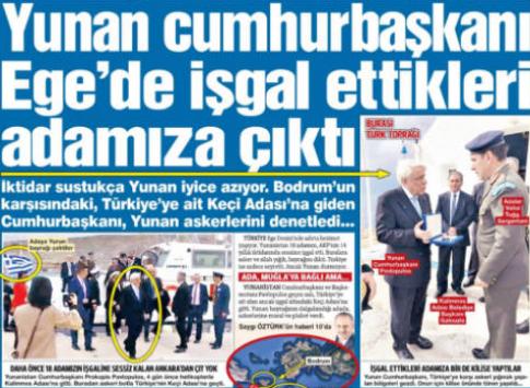 Απίστευτη πρόκληση – Τουρκική η Ψέριμος την κατέλαβαν οι Έλληνες!