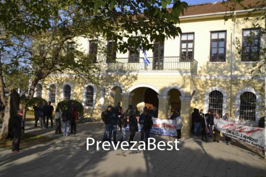 Πρέβεζα: Απέτρεψαν την επαναληπτική διαδικασία πλειστηριασμού πρώτης κατοικίας