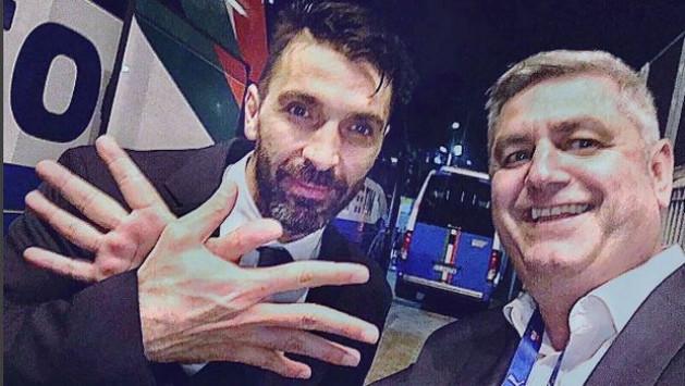 Προκριματικά Μουντιάλ 2018: Ο Μπουφόν σχημάτισε τον αλβανικό αετό! [pic]