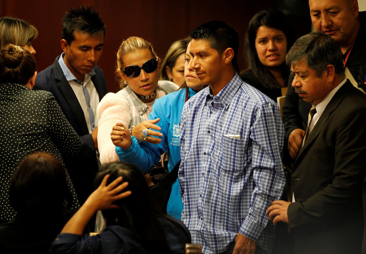 Ο πατέρας του θύματος, Γιουβένσιο Σαμπόνι - Φωτογραφία Reuters