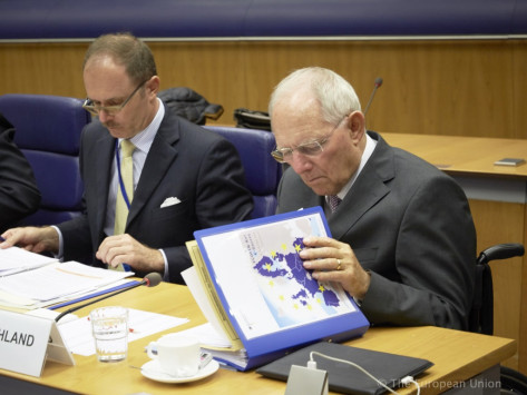 Αντίστροφη μέτρηση για το κρίσιμο Eurogroup - Κυβερνητικές πηγές: Θετική για την Ελλάδα η συνάντηση Σόιμπλε – Ντάισελμπλουμ