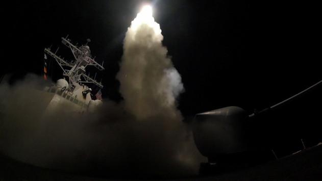 Επίδειξη ισχύος – Πάτησε το κουμπί ο Τραμπ – Εικόνες αποκάλυψης στη Συρία [vid]