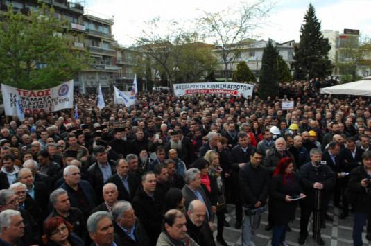 `Η ΔΕΗ δεν πωλείται` - Συλλαλητήριο στην Πτολεμαΐδα [pics]
