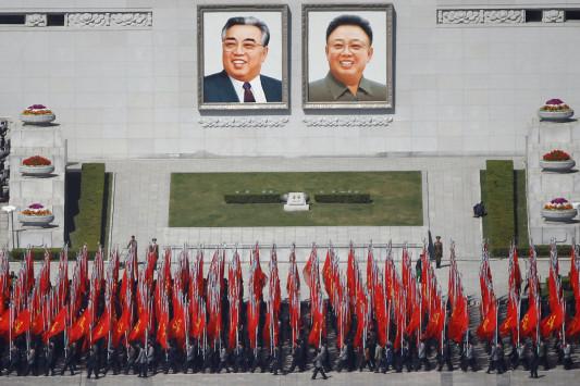 """Οι Βορειοκορεάτες ενημέρωσαν τους ξένους ανταποκριτές για ένα """"μεγάλο γεγονός"""" την Πέμπτη"""
