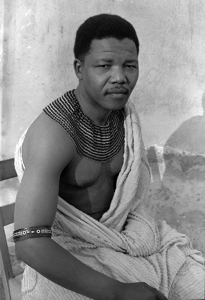 Νέος ο Νέλσον Μαντέλα το 1961