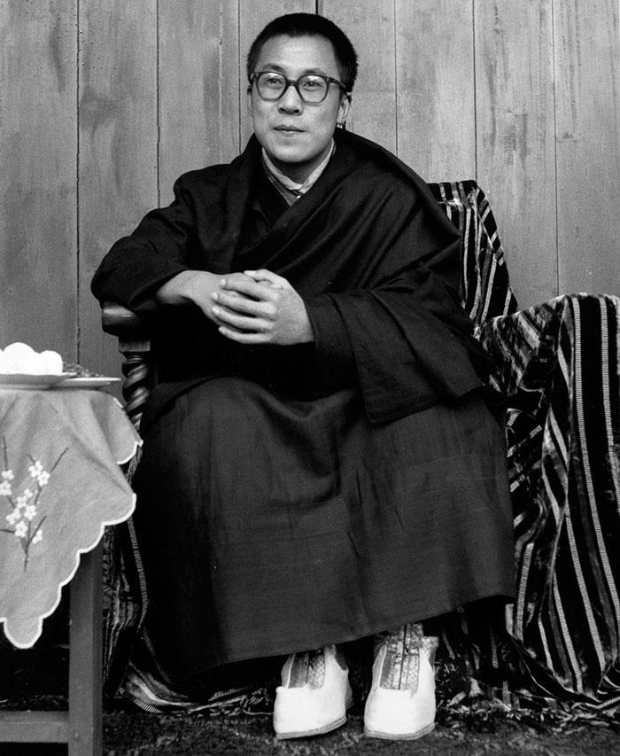 Από τα νιάτα του πράος ο Δαλάι Λάμα