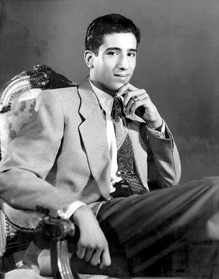 Ο Βασιλιάς Salman της Σαουδικής Αραβίας σε ηλικία 19 ετών το 1954