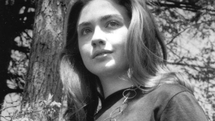 Η νεαρή Χίλαρι Κλίντον περίπου το 1969