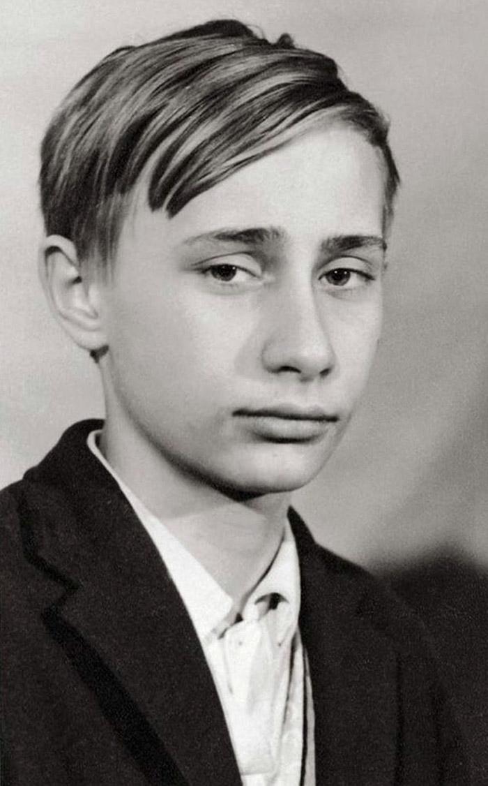 Ο... πιτσιρικάς Βλαντιμίρ Πούτιν το 1966