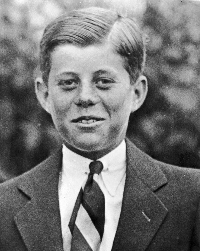 Ο John F. Kennedy σε ηλικία μόλις 10 ετών, το 1927