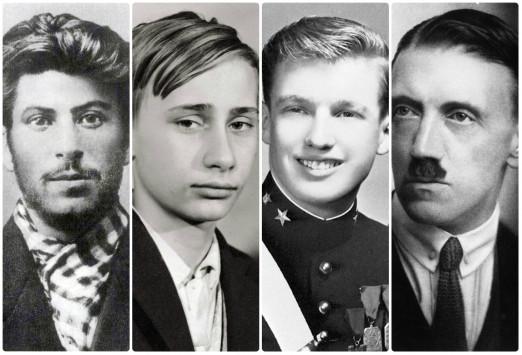 Παγκόσμιοι ηγέτες στα... νιάτα τους! Απίστευτες ιστορικές φωτογραφίες